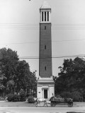 Memorial Bell Tower in Honor of Denny Chimes Premium Photographic Print by Alfred Eisenstaedt