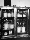 Ovens Heating Chemically Disinfected Pearls before Being Stung at Factory Premium Photographic Print by Alfred Eisenstaedt
