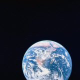 Earth Viewed from Deep Space Photographic Print