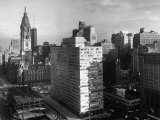 Pennsylvania Center Plaza and Town Hall in the Center of the City Premium Photographic Print by Margaret Bourke-White