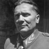 Excellent Portrait of Josip Broz, Aka Marshal Tito, Leader of the Yugoslavia Resistance at His Hq Photographic Print