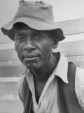 Delta and Pine Company African American Sharecropper Lonnie Fair, Aged 48 Premium Photographic Print by Alfred Eisenstaedt