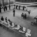 Japanese Elections Photographic Print by Alfred Eisenstaedt