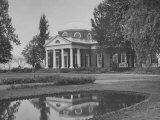 Thomas Jefferson's Home, Monticello, 1770's Premium Photographic Print by Ed Clark
