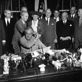 President Franklin D. Roosevelt, Signing the G.I. Bill Photographic Print