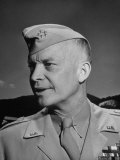 General Dwight D. Eisenhower at West Point Premium Photographic Print by Ed Clark