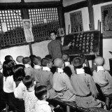 Children Attending Primary School Photographic Print by Carl Mydans