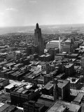 Aerial of Kansas City Photographic Print by Alfred Eisenstaedt