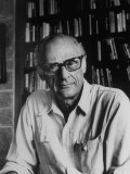 Portrait of Playwright Arthur Miller Premium Photographic Print by Alfred Eisenstaedt