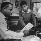 First Story Richard Wright Wrote Was Published by the African American Paper in Jackson Photographic Print by Ed Clark