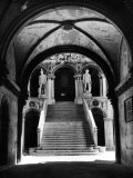 Stairway of the Giants Inside the Doge's Palace Premium Photographic Print