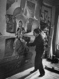 Artist Salvador Dali, Photographic Print
