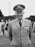 General Dwight D. Eisenhower Arriving in the City Premium Photographic Print