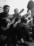 Gypsy Guitarists Premium Photographic Print by Dmitri Kessel