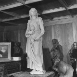 Stolen, Looted and Hidden Art Works Uncovered by American Soldiers at the End of WWII Photographic Print