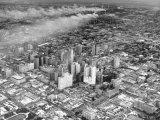 An Aerial View of the City Houston Premium Photographic Print by Dmitri Kessel