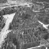 Bombed Out Buildings in Berlin Following Allied Capture of the City Photographic Print