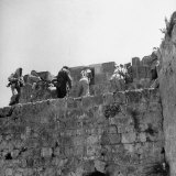 Major John Bagot Glubb's Arab Legionnaires Fight from Walls of Jerusalem, in War with Israel Photographic Print
