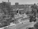 An Overall View of the Meharry Medical School Premium Photographic Print by Ed Clark