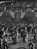 Huge Numbers of People Dancing on the Ballroom Floor During Harry S Truman's Inaugural Ball, Photographic Print