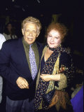 Actors Jerry Stiller and Estelle Harris Premium Photographic Print by Dave Allocca