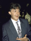Musician Paul Mccartney at Acpa Salute Party Premium Photographic Print by David Mcgough