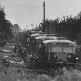 Old Busses Used for Housing Migrant Farm Workers Photographic Print