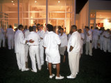 "Annual White Party at Home of Rap Artist Sean ""Puffy"" Combs Premium Photographic Print by Marion Curtis"