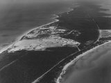 An Aerial View of the Cape Canaveral Proving Grounds Premium Photographic Print by Ralph Morse