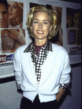 "Actress Tea Leoni at Film Premiere of Her ""Flirting with Disaster"" Premium Photographic Print by Marion Curtis"