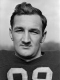 Headshot of University of Michigan Fottball Player, No.98, Tom Harmon Premium Photographic Print by Alfred Eisenstaedt