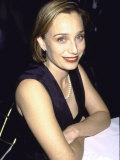 "Actress Kristin Scott Thomas at Film Premiere of ""Shakespeare in Love"" Premium Photographic Print by Dave Allocca"