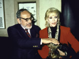Edgar Rosenberg and Wife, Comedienne Joan Rivers Premium Photographic Print by Ann Clifford