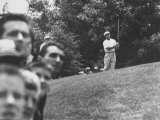 Golfer Ben Hogan During Us Open Tournament Premium Photographic Print