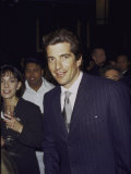 Magazine Publisher John F. Kennedy Jr Premium Photographic Print by Marion Curtis