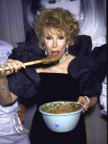 Comedienne Joan Rivers Metal Print