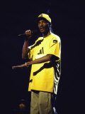Rapper Snoop Doggy Dogg Performing at Radio City Music Hall Metal Print