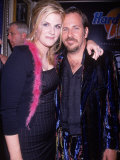 Country Singer Trisha Yearwood and Husband Robert Reynolds at Launch Party for Vh1's Hard Rock Live Premium Photographic Print by Dave Allocca