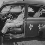 Ucla Auto Crash Test Dummy Experiments Photographic Print by J. R. Eyerman