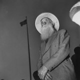 Morman Believer Wearing Hat, Suit, and Full Beard Photographic Print by Loomis Dean