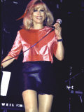 Singer Nancy Sinatra Performing Premium Photographic Print by Dave Allocca