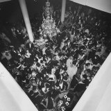 People Dancing at a Party for the Manizales Fair Photographic Print