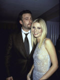 """Actors Ben Affleck and Gwyneth Paltrow at Film Premiere of their """"Shakespeare in Love"""" Premium Photographic Print by Dave Allocca"""