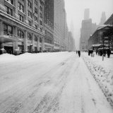 Big Snow Photographic Print by Andreas Feininger