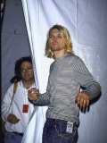 Front Man of Rock Group Nirvana Kurt Cobain Premium Photographic Print