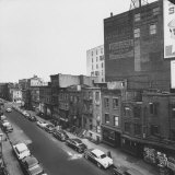 Overshot of East 10th Street Photographic Print