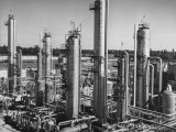 Anhydrous Ammonia Producing Chemical Plant Premium Photographic Print