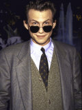 Actor Christian Slater, Wearing Sunglasses Premium Photographic Print