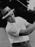 Golfer Sam Snead Premium fototryk