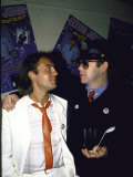 Songwriters Bernie Taupin and Elton John Premium Photographic Print